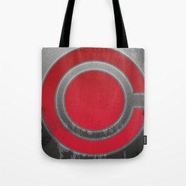 Cyborg symbol Tote Bag