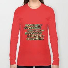 Woven Long Sleeve T-shirt