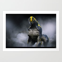 Abandoned Alien 01 Art Print