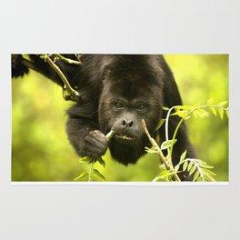 Howler monkey Rug