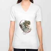 will graham V-neck T-shirts featuring Hannibal - Will Graham by Caeruls