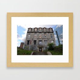 Louis-Hippolyte La Fontaine house, Montreal Framed Art Print