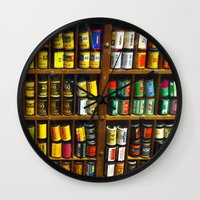 film Wall Clocks featuring Film by Slow Toast
