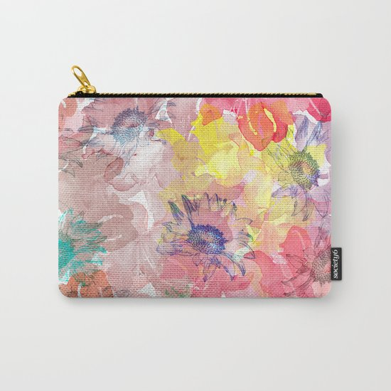 Flower carpet(32). Carry-All Pouch