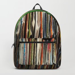 Rare grooves vinyl collection Backpack