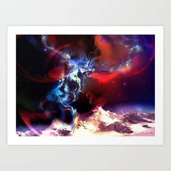 Celestial Force Art Print
