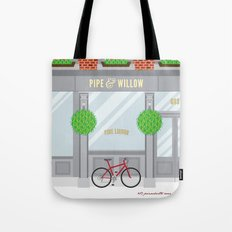Pinwhistle Way Faccade Tote Bag