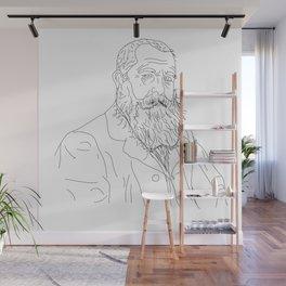 Monet - Illustration Wall Mural