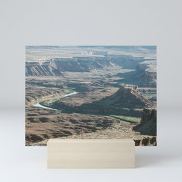 Green river in Canyonlands Mini Art Print
