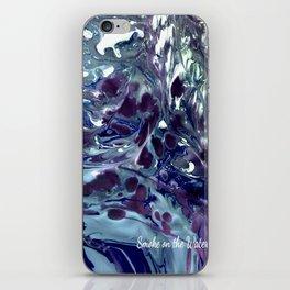 Smoke on the water iPhone Skin