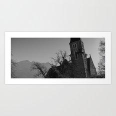 Shades of Swiss Art Print