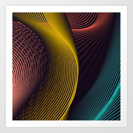Outfitted Art Print