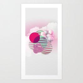 Color Squash Art Print