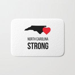 North Carolina strong / Hurricane season Bath Mat