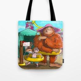 Sasquatch Spotted! Tote Bag