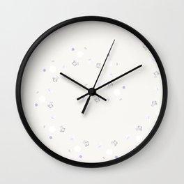Marble Pentagon Wall Clock