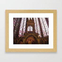 Saint Chapelle Framed Art Print