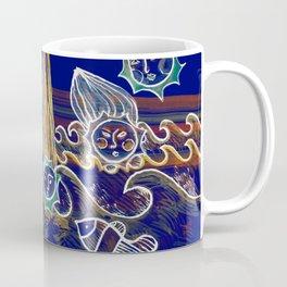 More Suns for Life at Deep Blue Coffee Mug
