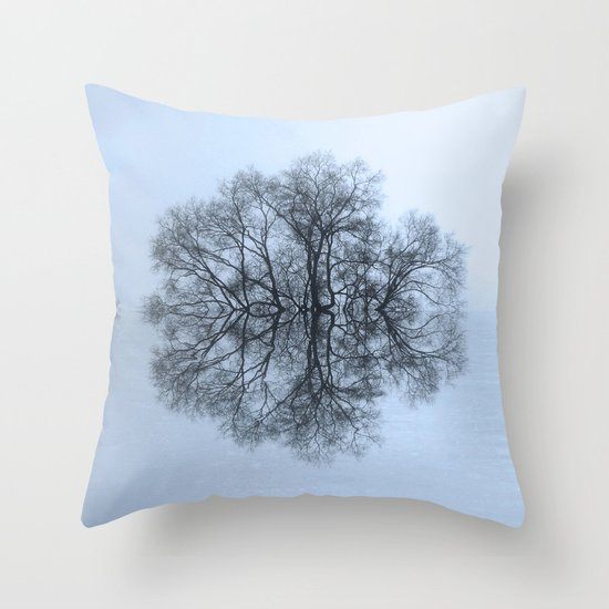 Trees of Reflection Throw Pillow