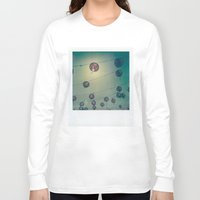 lanterns Long Sleeve T-shirts featuring Lanterns by Leandro