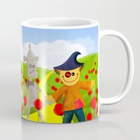 wizard Mugs featuring Wizard by Ivan Alfaro Shop
