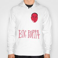 typo Hoodies featuring French Poppa by Chris Piascik