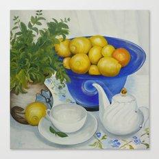 Lemon Tea Canvas Print