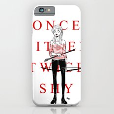 Once Bitten Twice Shy iPhone 6s Slim Case