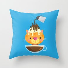 Affogato Throw Pillow