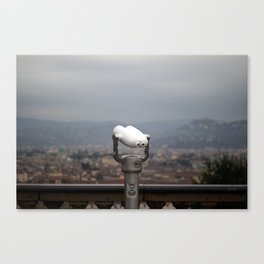Viewpoint. Florence. Canvas Print