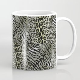 Leopard, tiger print. Coffee Mug