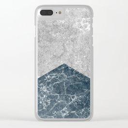 Concrete Silk Clear iPhone Case
