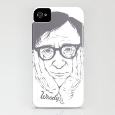 Woody Allen Slim Case iPhone (4, 4s)