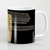 metal Mugs featuring Metal by Maria Julia Bastias