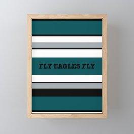 Fly Eagles Fly Philadelphia Framed Mini Art Print