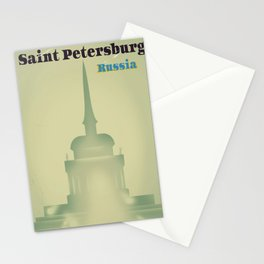 Saint Petersburg Russia Stationery Cards