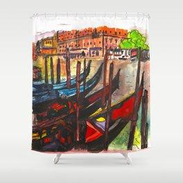 Paradisal Venice Shower Curtain