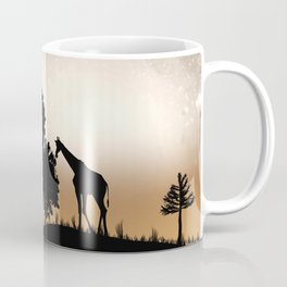 Nature silhouettes Coffee Mug