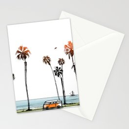LA love  Stationery Cards
