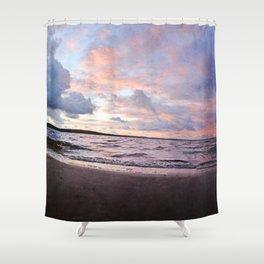 l'aube du hibou Shower Curtain