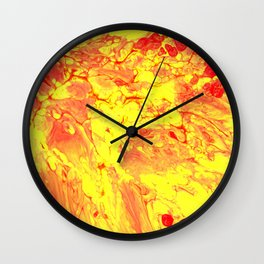 Paint Pouring 1 Wall Clock