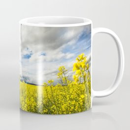 Fields of yellow - Floral Photography #Society6 Coffee Mug