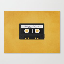 How To Say I Love You Canvas Print