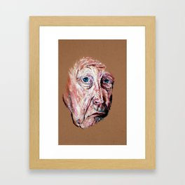 It Comes and Goes Framed Art Print