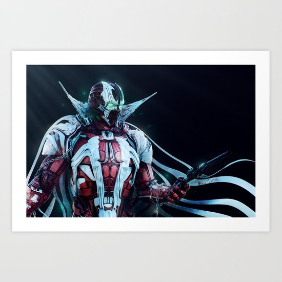 Spawn Horizontal2 Art Print
