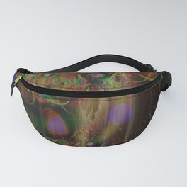 Mighty Mushroom Psychedelic Fanny Pack