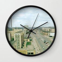 East Berlin Fernsehturm '69 Wall Clock