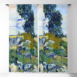 Vincent van Gogh The Rocks Blackout Curtain
