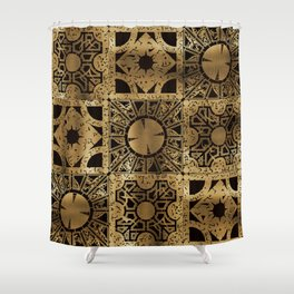 Lament Configuration Spread Shower Curtain