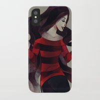 marceline iPhone & iPod Cases featuring Marceline by chuwenjie